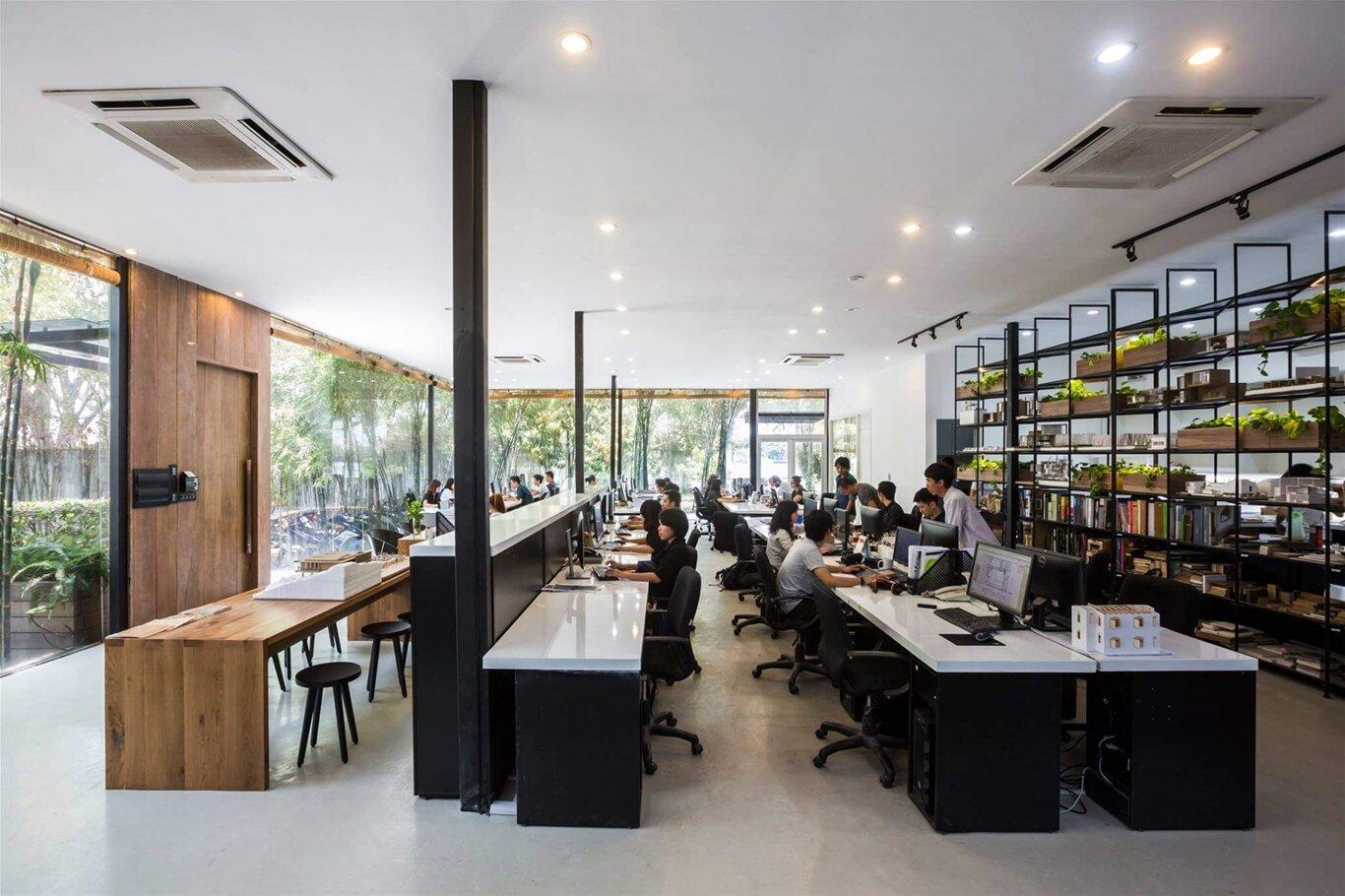 Top 10 không gian văn phòng đẹp nhất Việt Nam 2018 : SEN OFFICE
